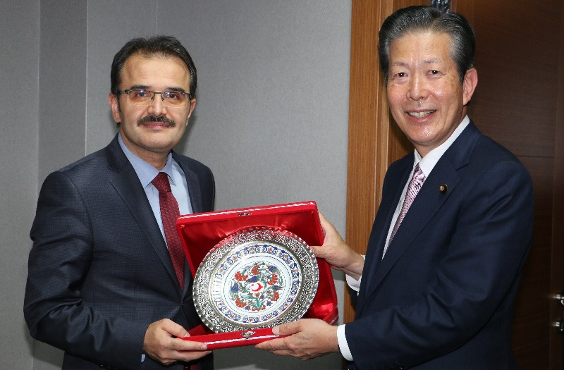 """Japan Komeito Party Committee visited our General Directorate"""