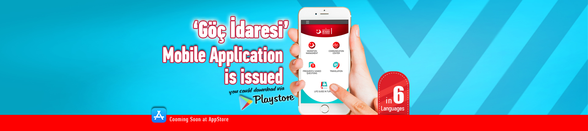 Mobil Application is issued