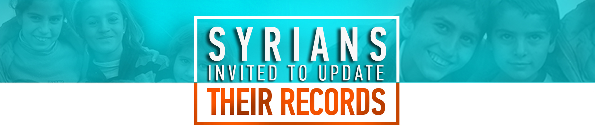 Syrians Invited to Update Their Records